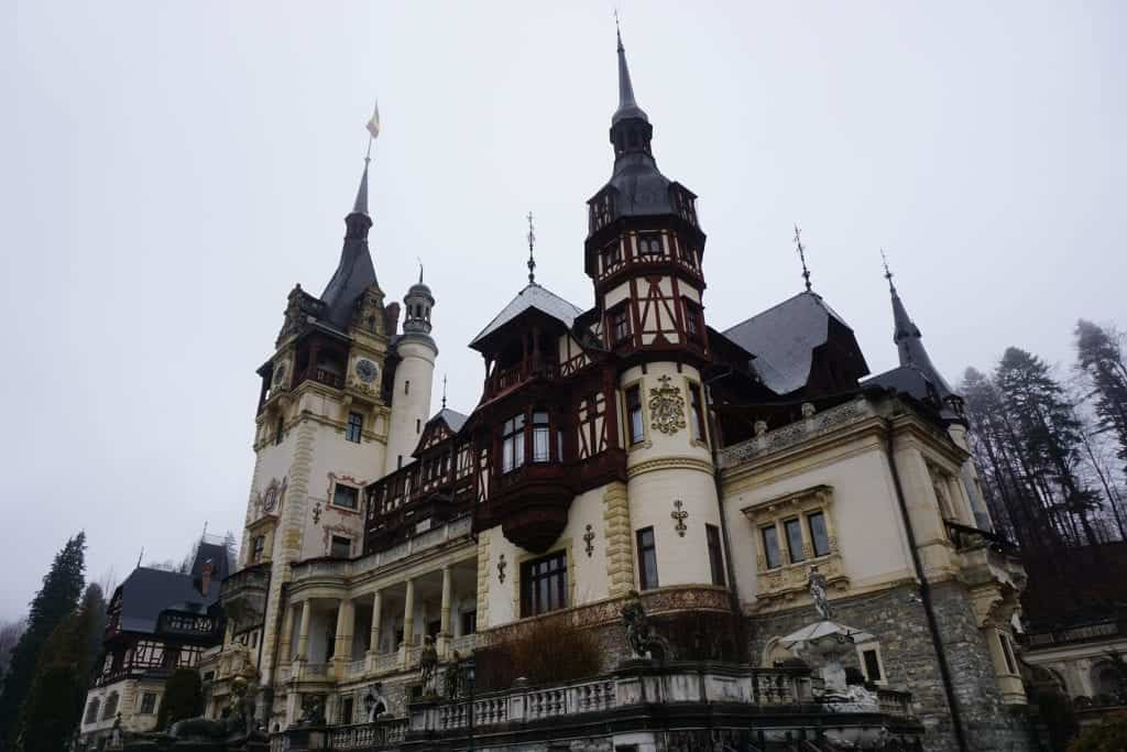 Peles Castle. Photo by Chrysoula Manika. Reused with permission.