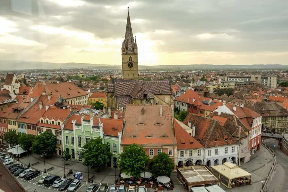 Sibiu. Photo by Kamila Napora. Reused with permission.