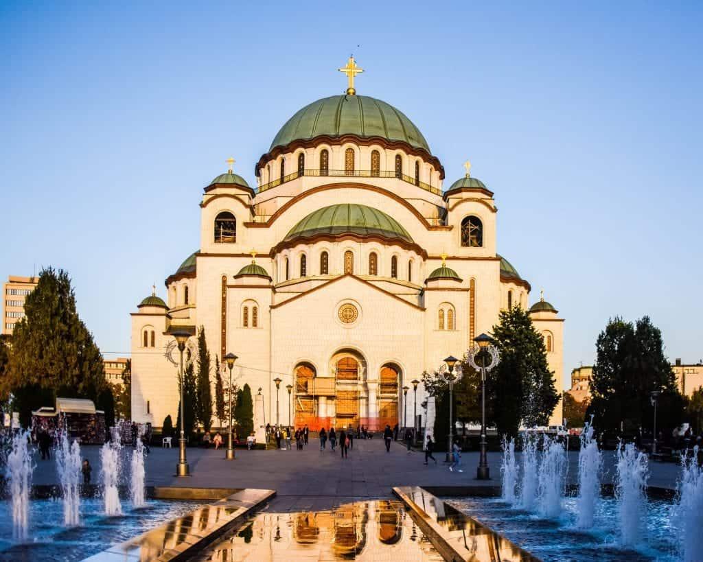 Serbia - Belgrade - Sava Temple