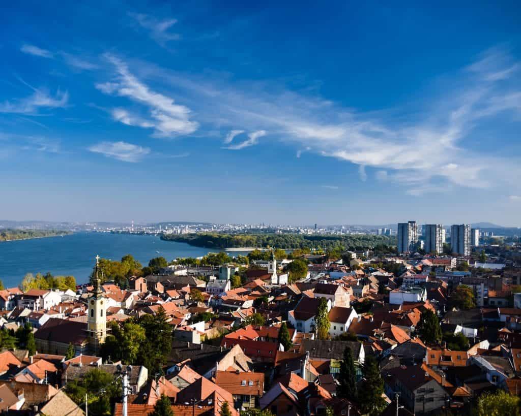 Serbia - Zemun - Gardos Tower View