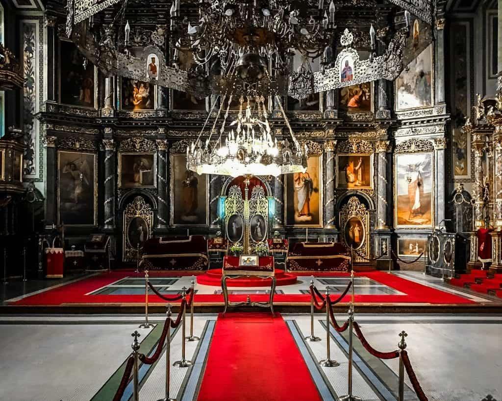 Serbia - Belgrade - St. Michaels Altar