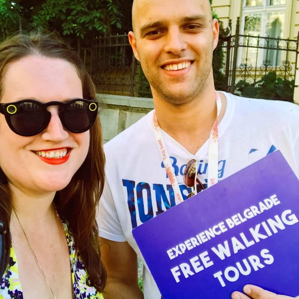Serbia - Belgrade - Experience Belgrade Free Walking Tour Stephanie