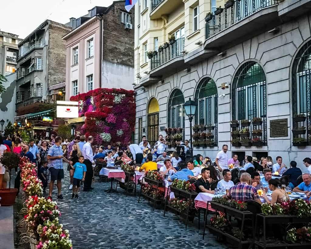 Serbia - Belgrade - Skardarska Street