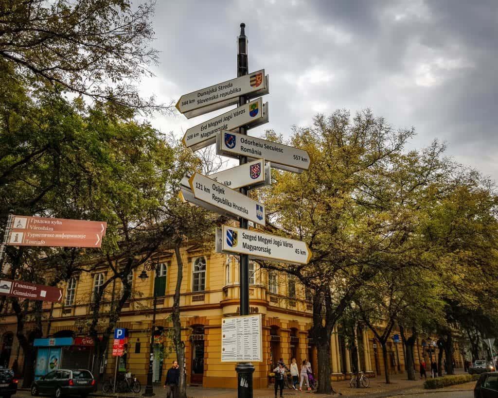 Serbia - Subotica - Sign