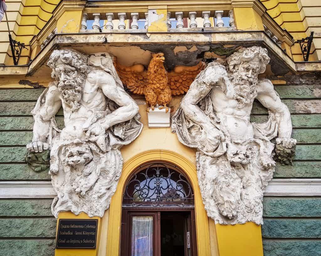 Serbia - Subotica - Library