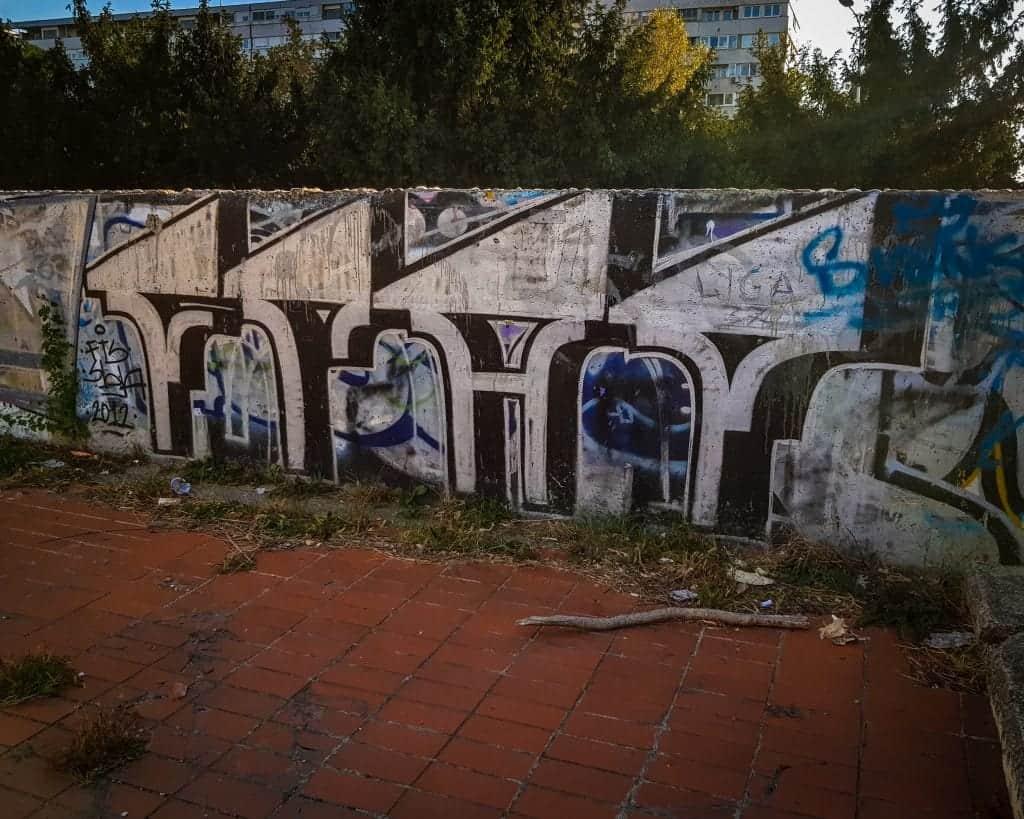 Serbia - Belgrade - Western City Gate Street Art