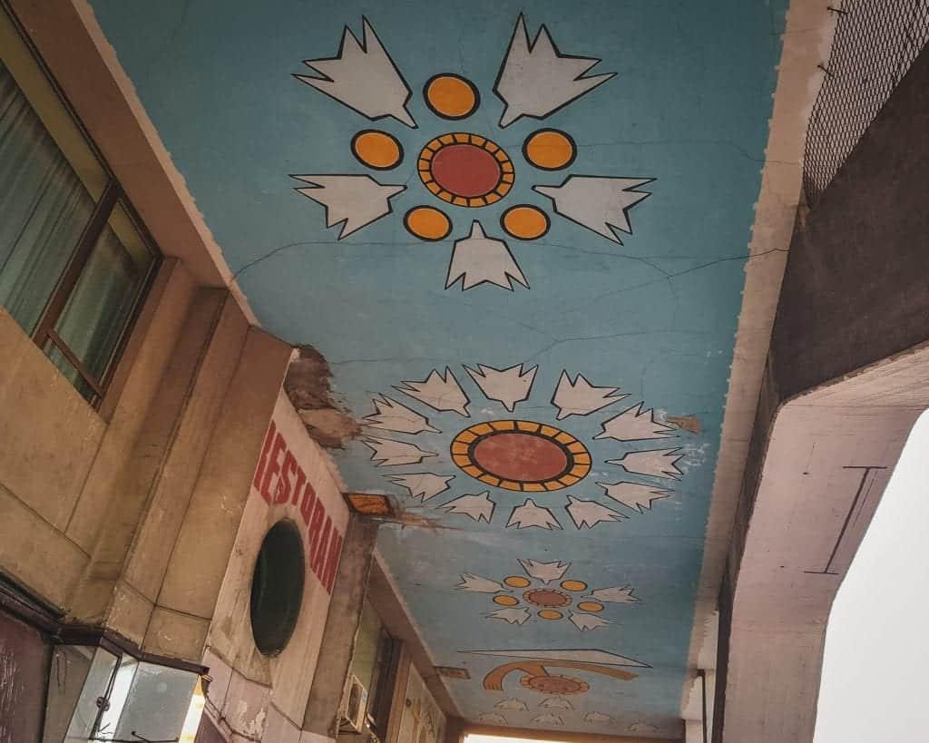 Serbia - Belgrade - Western City Gate Mural Street Art