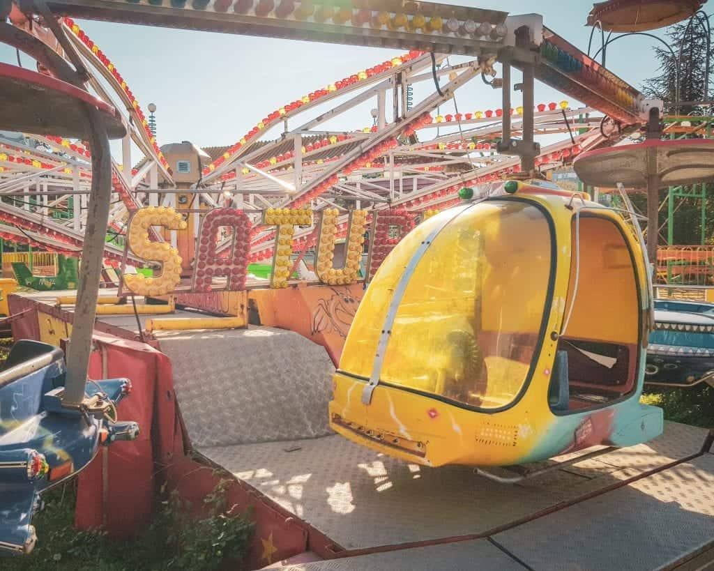 Serbia - Belgrade - Novi Beograd Amusement Park