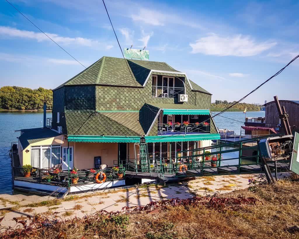 Serbia - Belgrade - Novi Beograd Boat Hostel