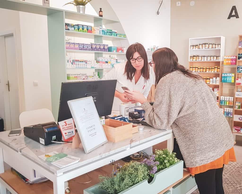 Serbia - Belgrade - Pharmacy Allison