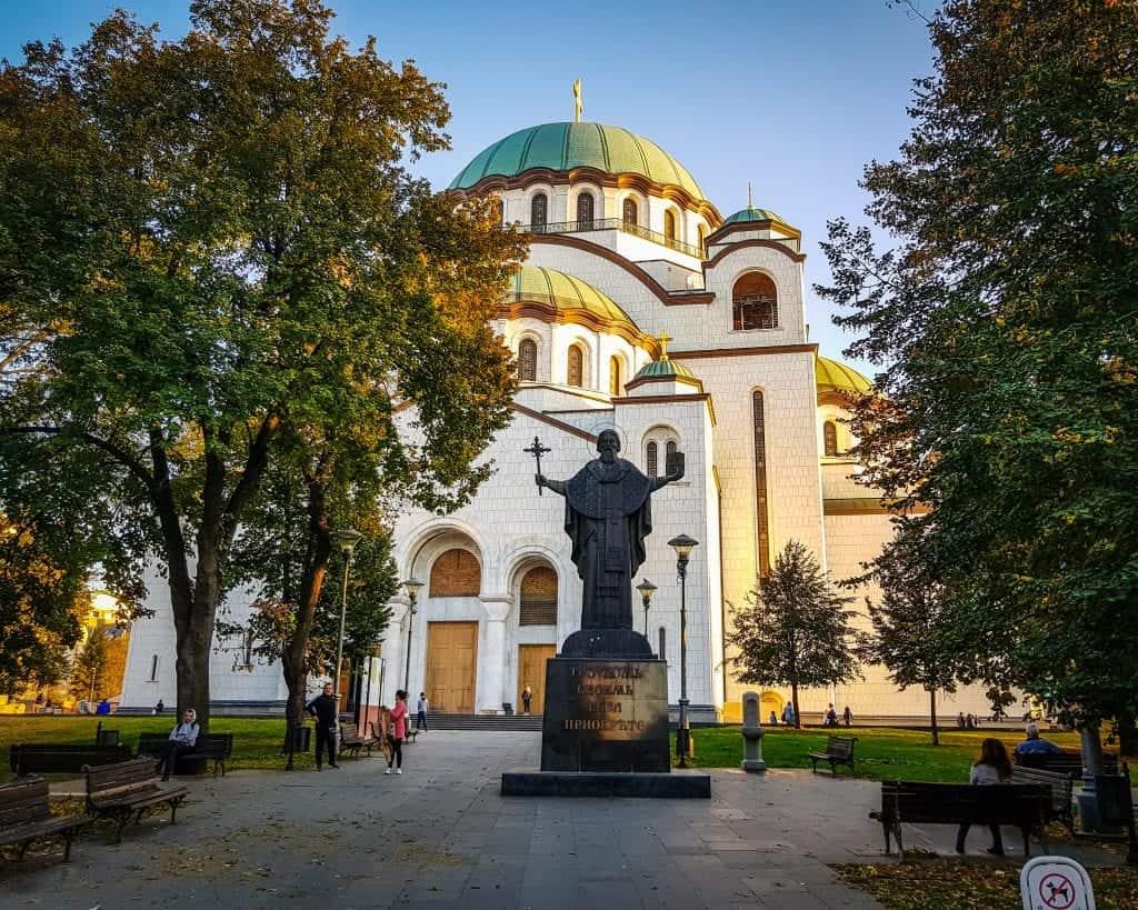 Serbia - Belgrade - Saint Sava