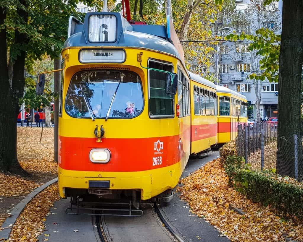 Serbia - Belgrade - Trolley