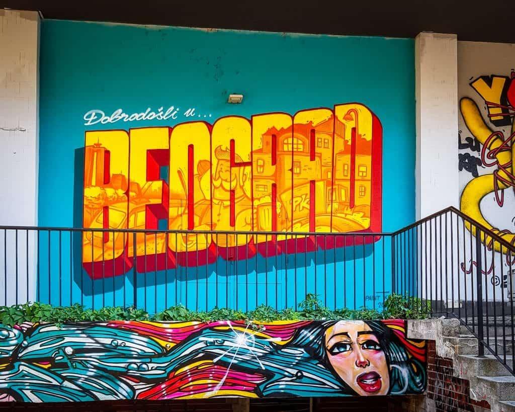 Serbia - Belgrade - Welcome to Belgrade Street Art