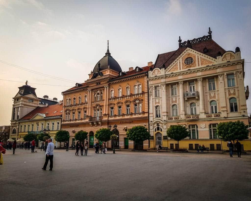 Serbia - Novi Sad - Main Old Town Square