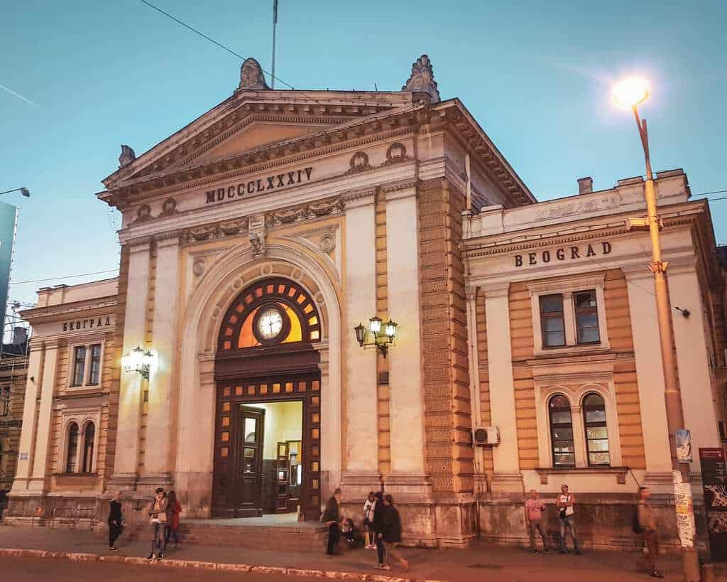 Serbia - Belgrade - Old Train Station