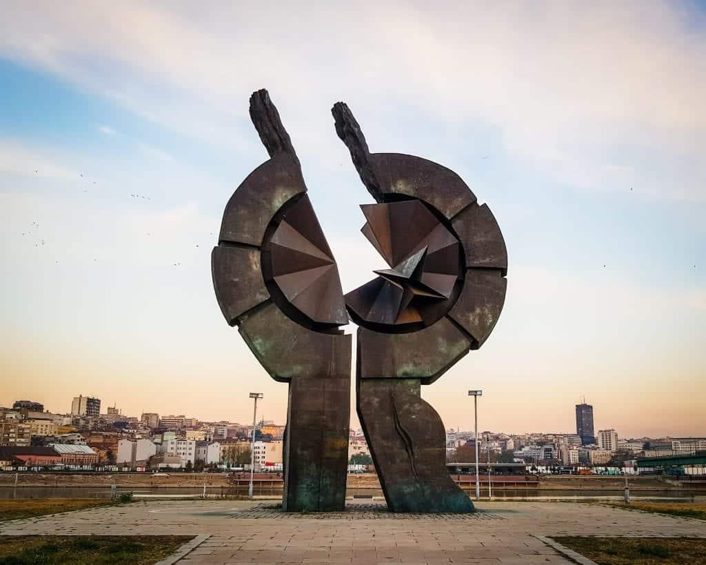 Serbia - Belgrade - Sajmište Concentration Camp Spomenik