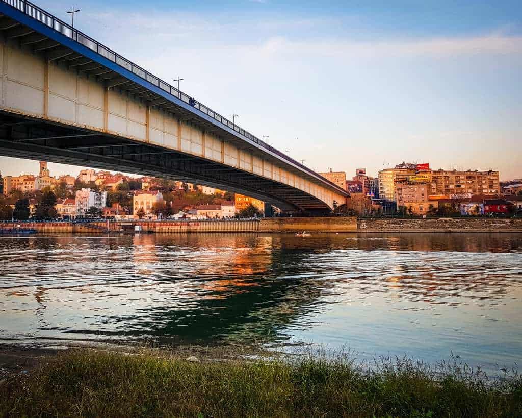 Serbia - Belgrade - Branko's Bridge