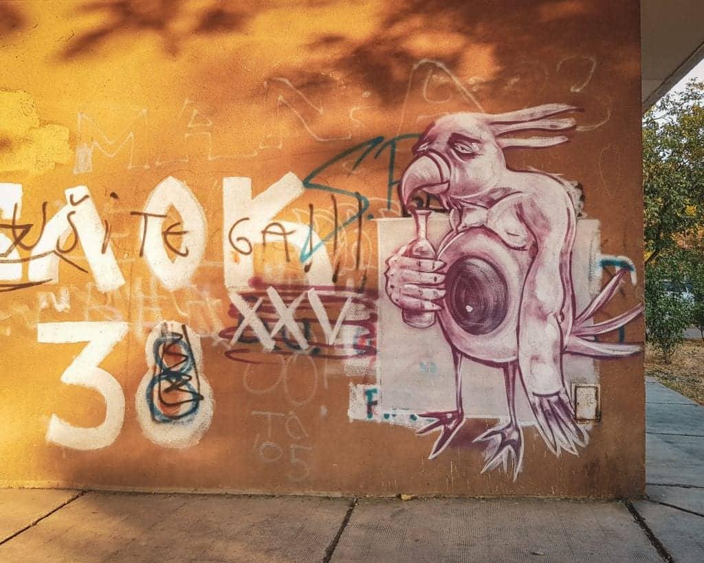 Serbia - Belgrade - Street Art