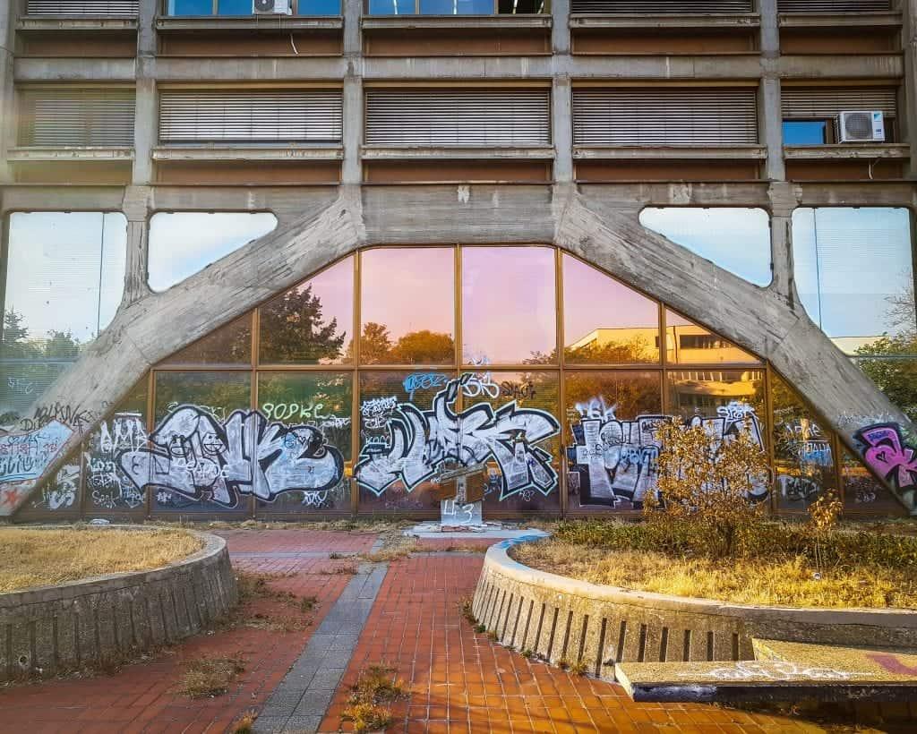 Serbia - Belgrade - Street Art at Western City Gate
