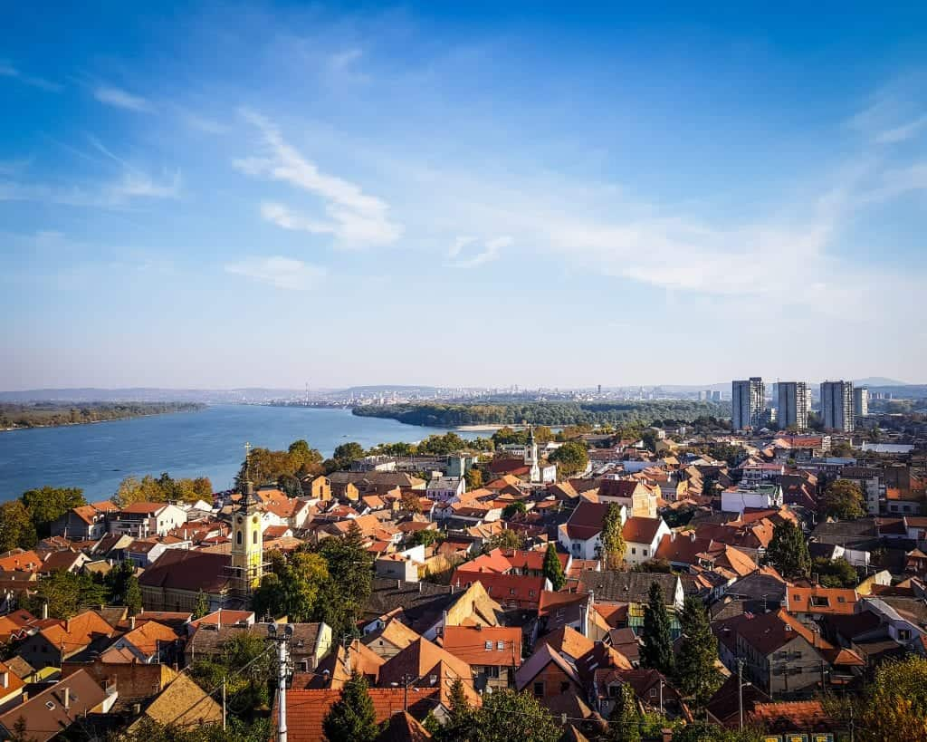 Serbia - Belgrade - View from Gardos Tower