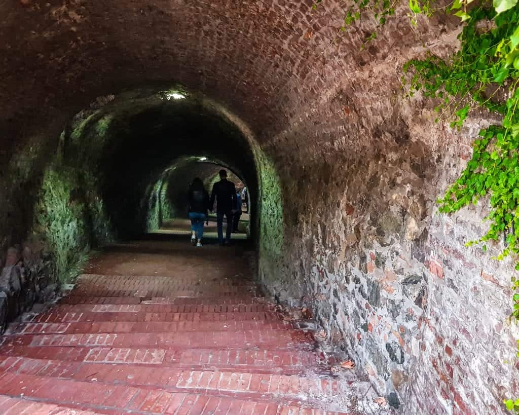 Serbia - Novi Sad - Tunnel at Petrovaradin Fortress