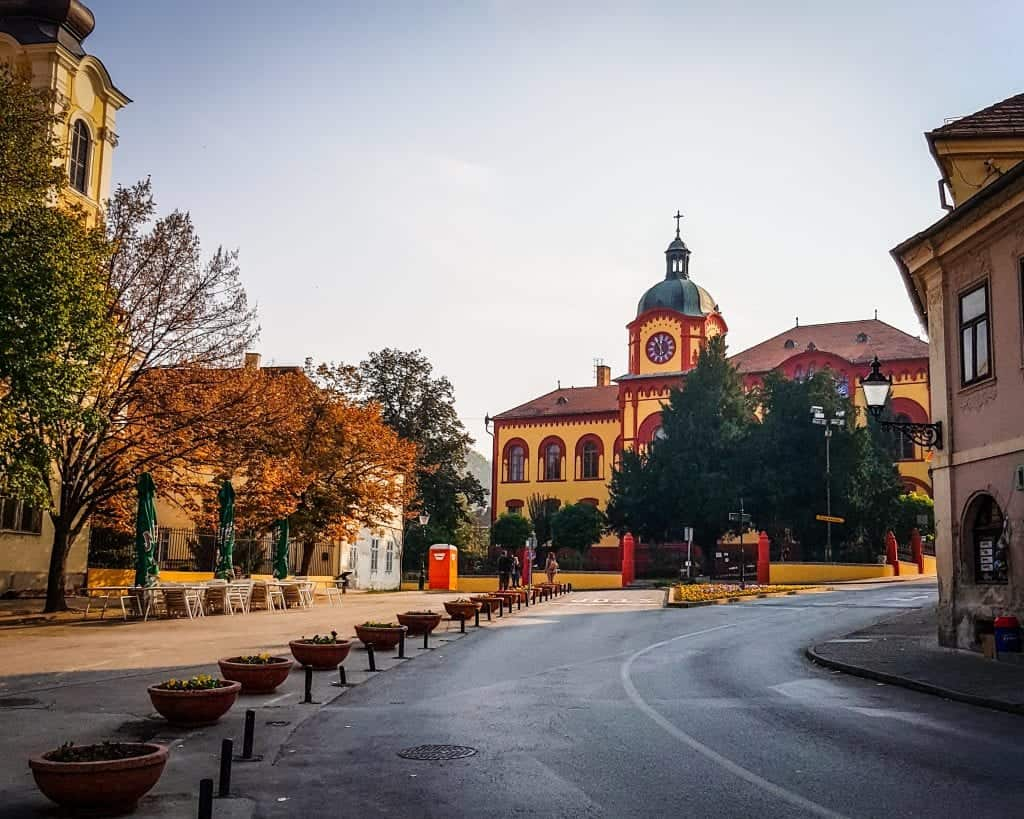 Serbia - Sremski Karlovci - High School
