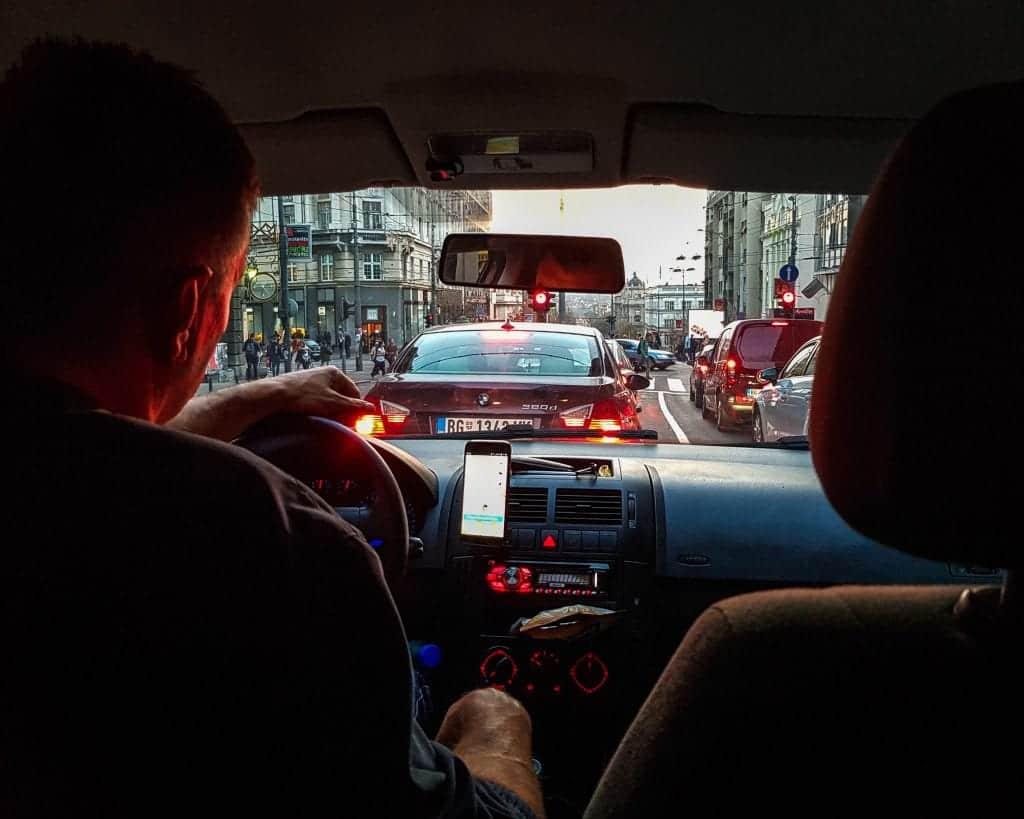 Serbia - Belgrade - Taxi