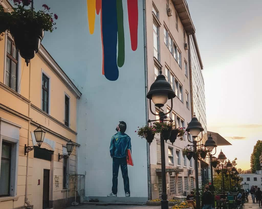 Serbia - Belgrade - Street Art off Knez Mihailova