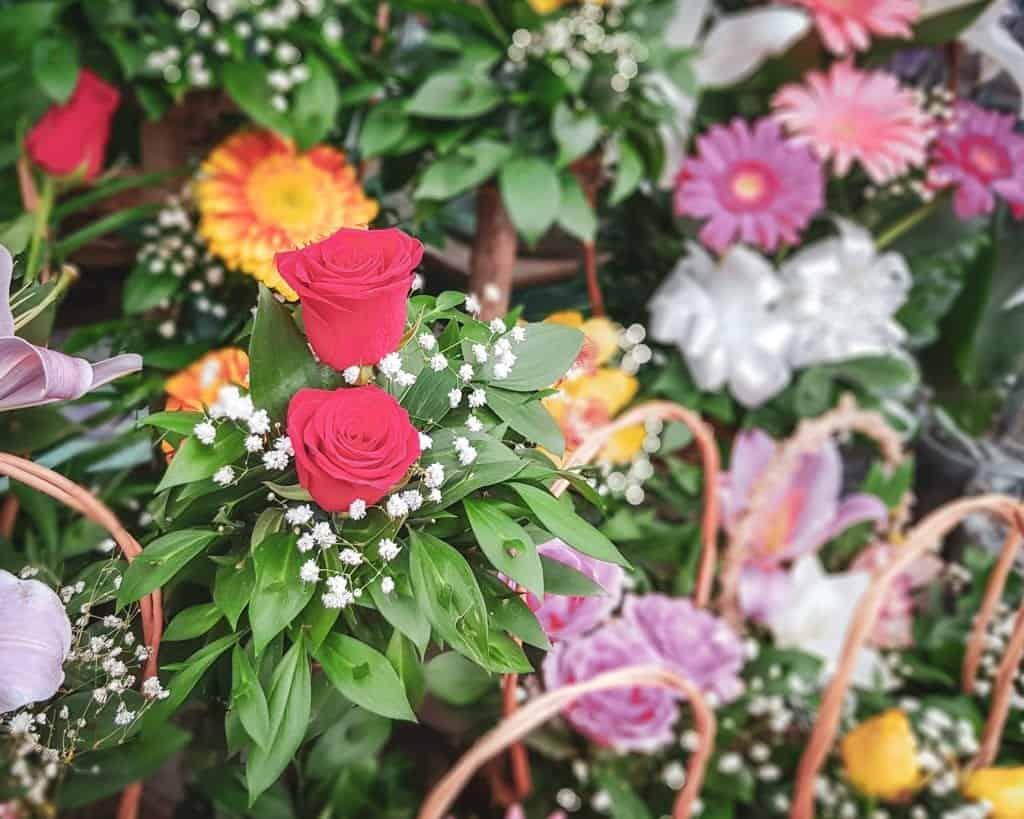 Serbia - Belgrade - Zeleni Venac Market - Flowers