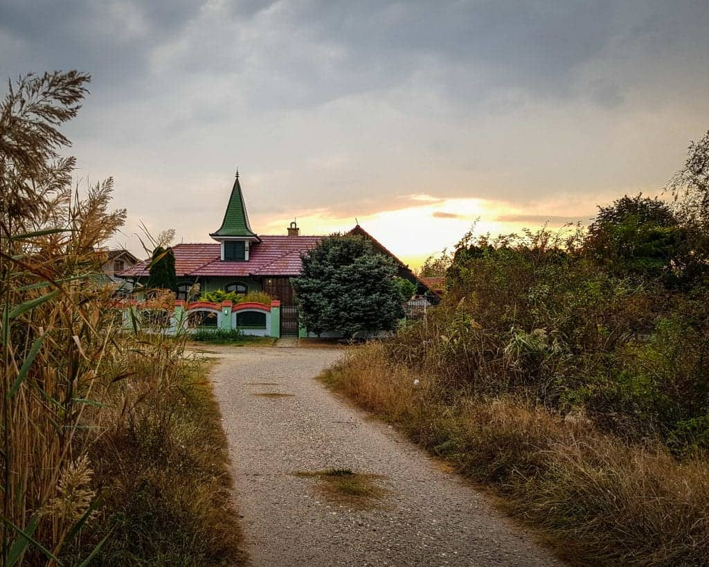 Serbia - Subotica - Lake Palic House