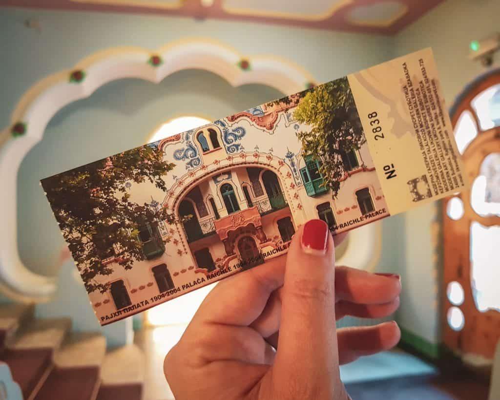 Serbia - Subotica - Art Nouveau Palace Ticket