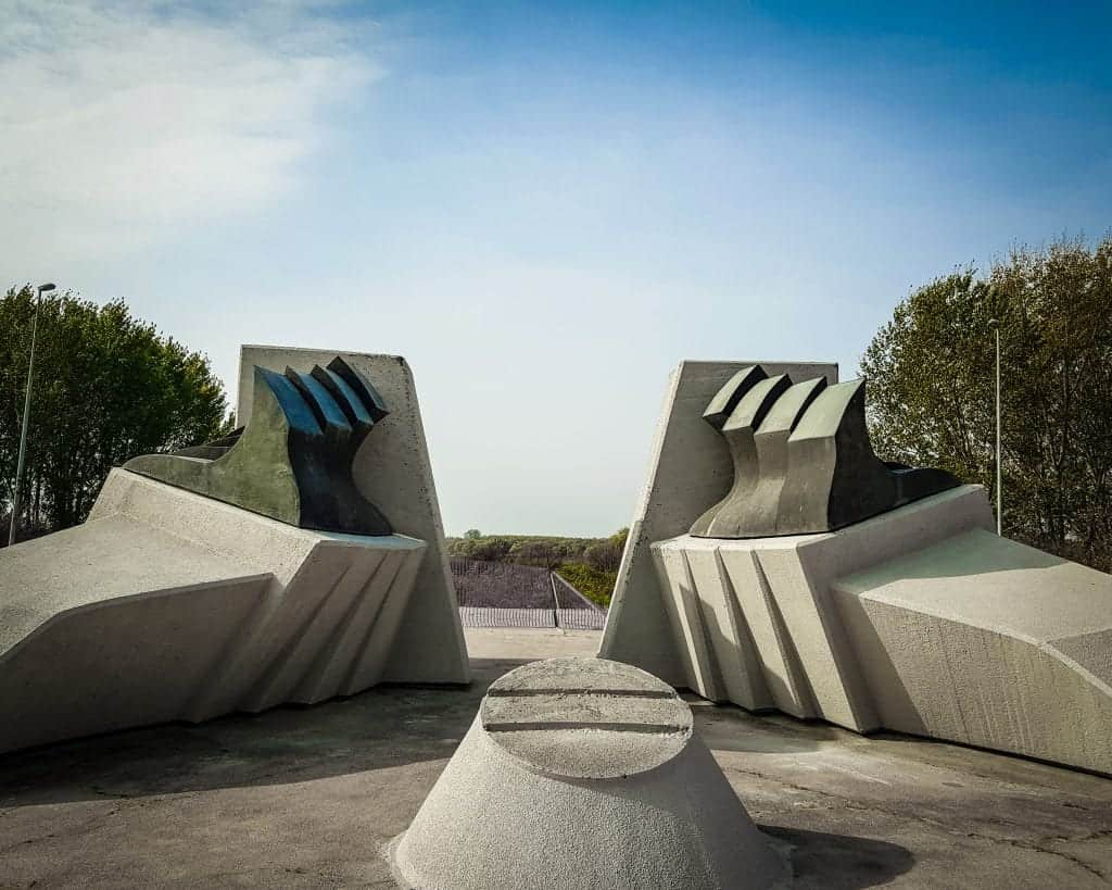 Serbia - Jabuka - Stratište Memorial Complex Monument to the Pancevo Holocaust