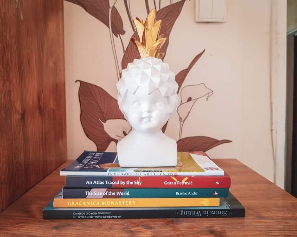 Bulgaria - Sofia - Steph's apartment Serbian books