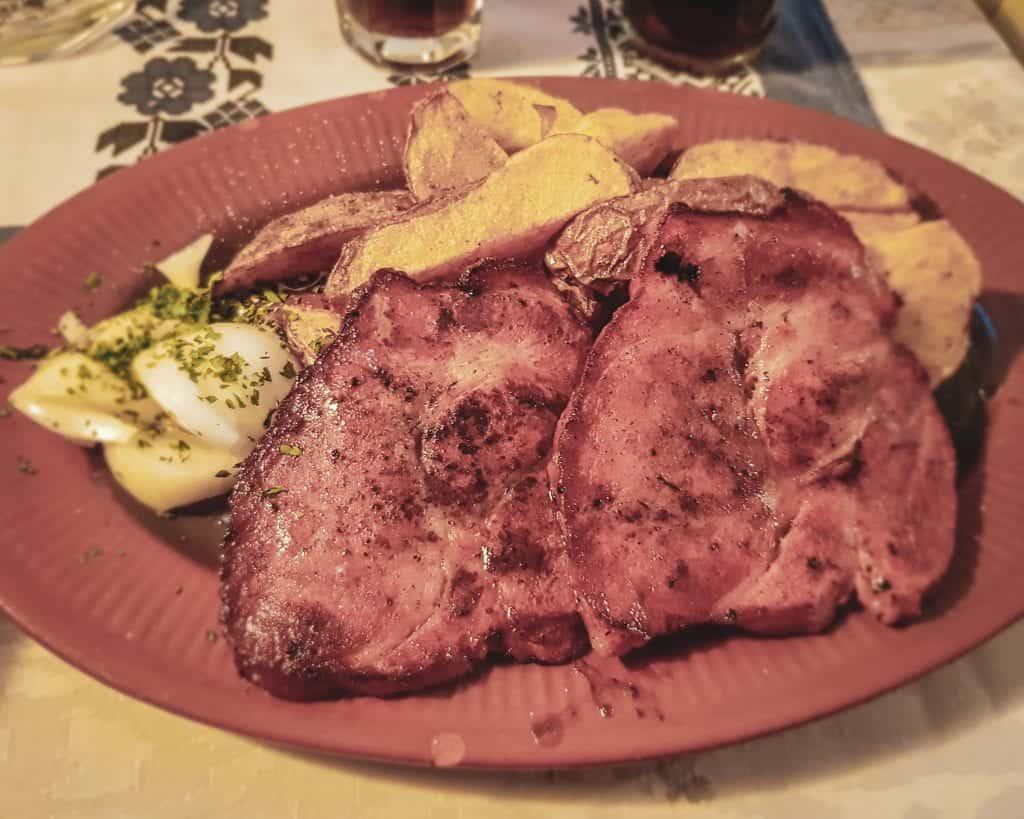 Serbia - Novi Sad - Pork Tenderloin -Serbian Food