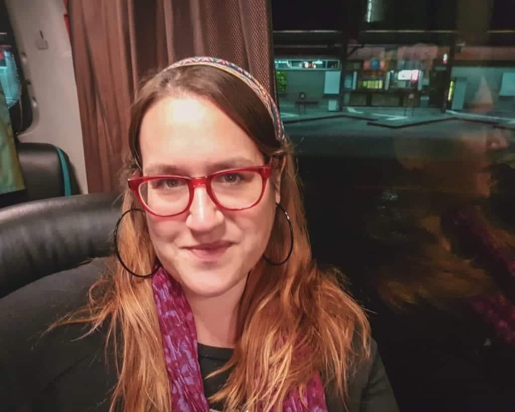 Serbia - Belgrade - Bus Selfie