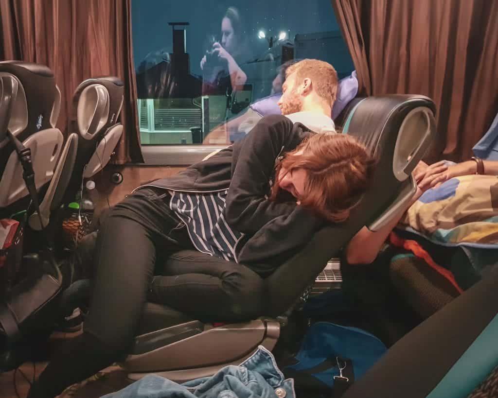 Serbia - Belgrade - Bus Passengers