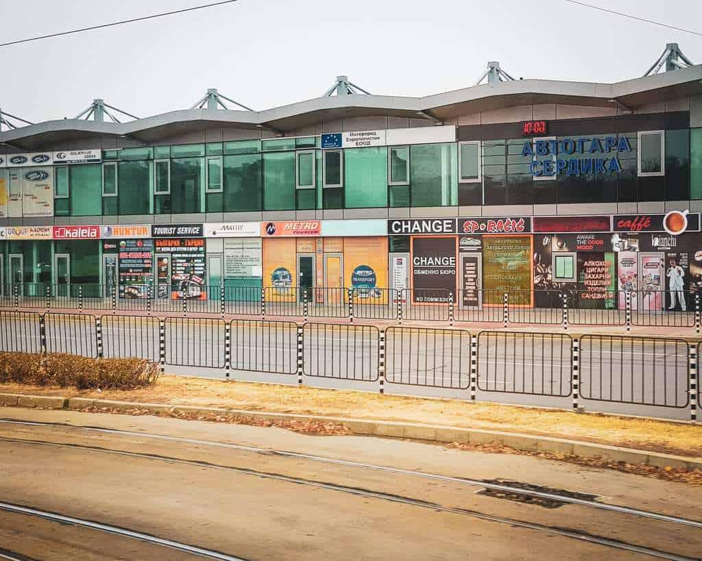 Bulgaria -Sofia - Serdika Bus Station