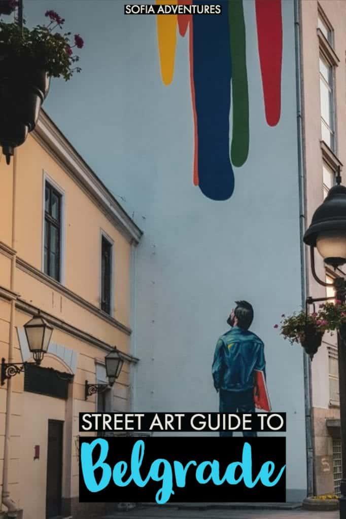 Want to see Belgrade off the beaten path? This alternative guide to Belgrade street art will show you murals, graffiti, and hidden gem corners of Belgrade. Belgrade travel | Belgrade Serbia | Belgrade photography | Belgrade art