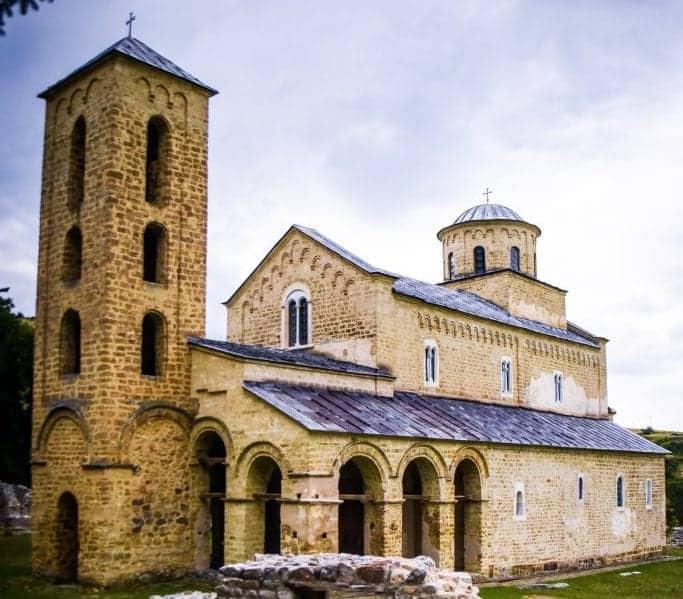 Serbia - Novi Pazar - Sopocani Monastery