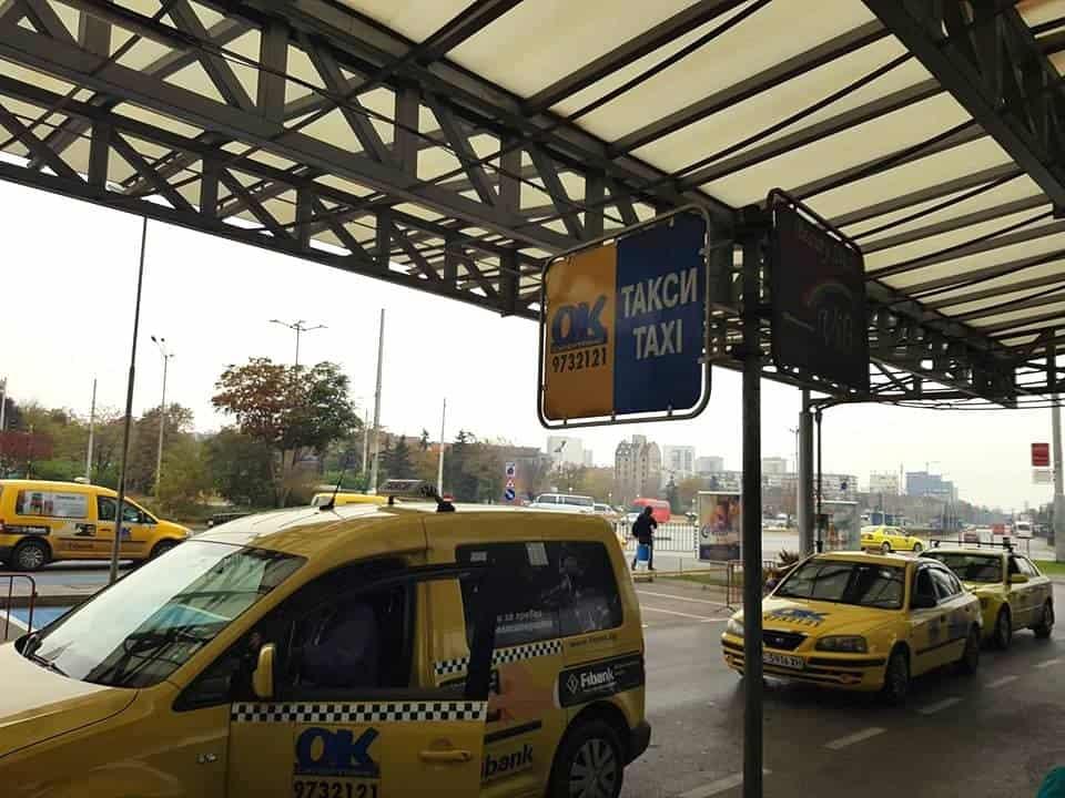 Bulgaria - Sofia - OK Taxi