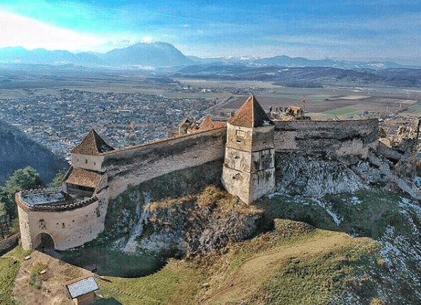 Romania - Rasnov Citadel - Instagram Screen Shot