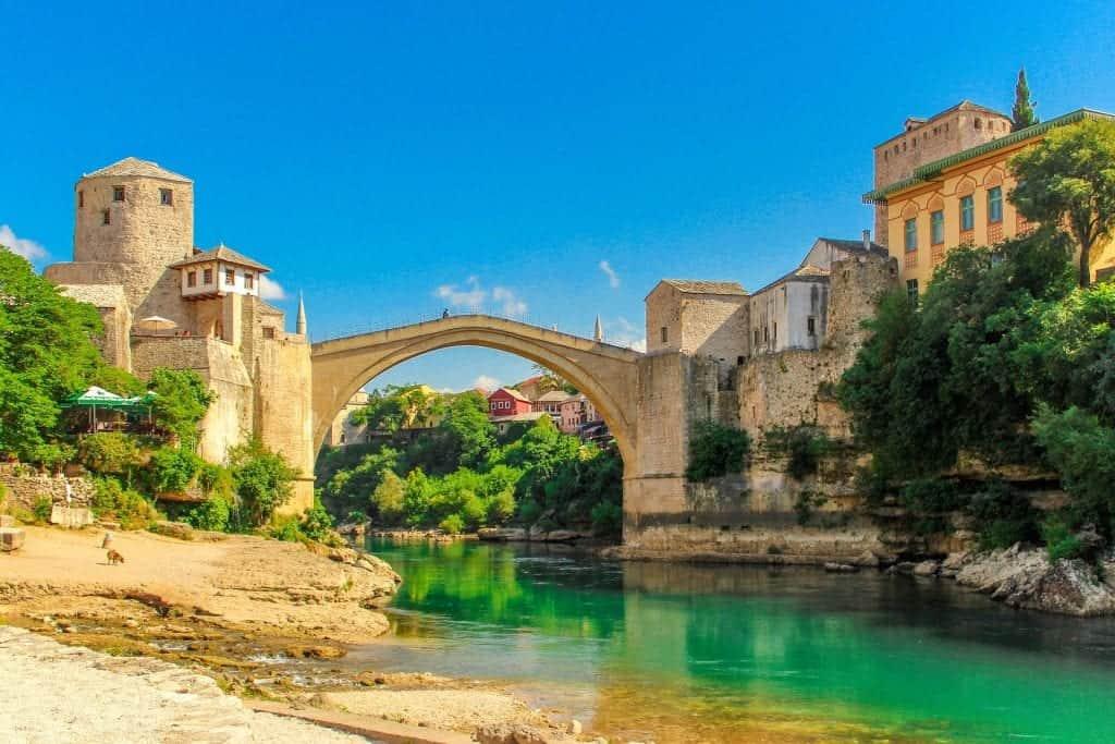 Bosnia - Mostar Bridge - Pixabay