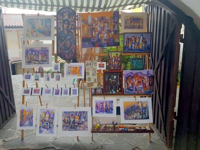 Bulgaria - Plovdiv - Painting souvenirs