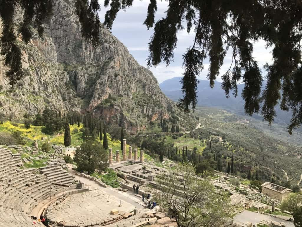 Greece - Delphi - Collab