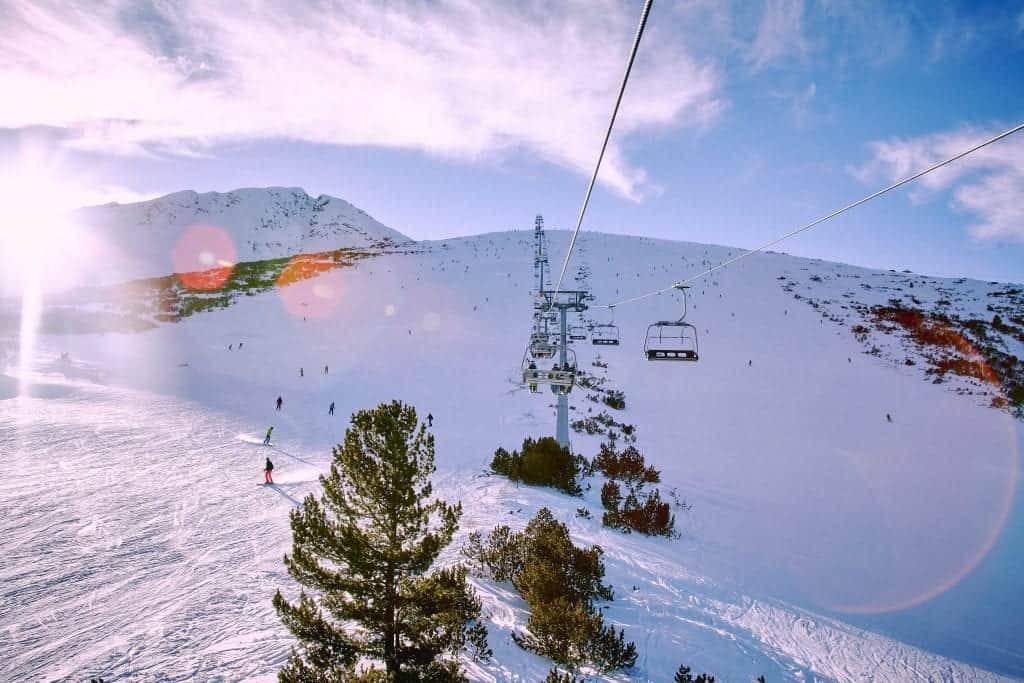 Sofia in winter - mountain