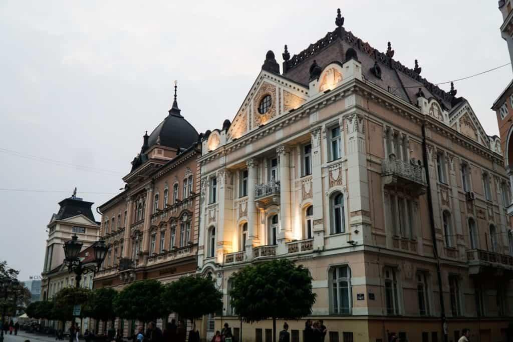 Serbia - Novi Sad - Main Square