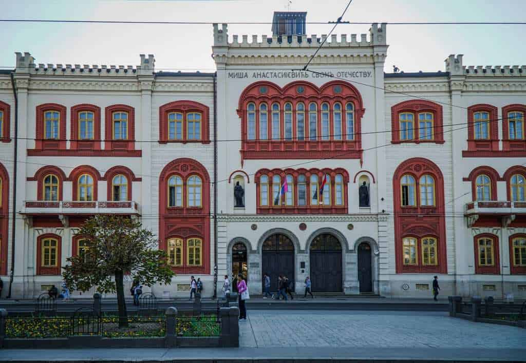 Serbia - Belgrade - Misha's Ediface Building