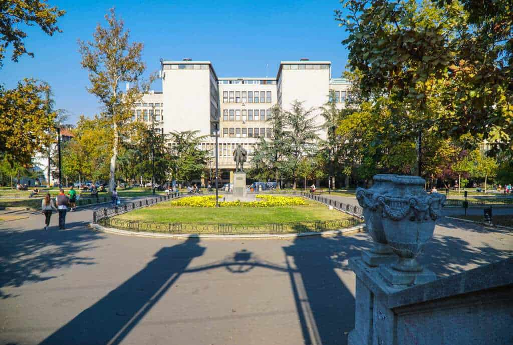 Serbia - Belgrade - Students Park