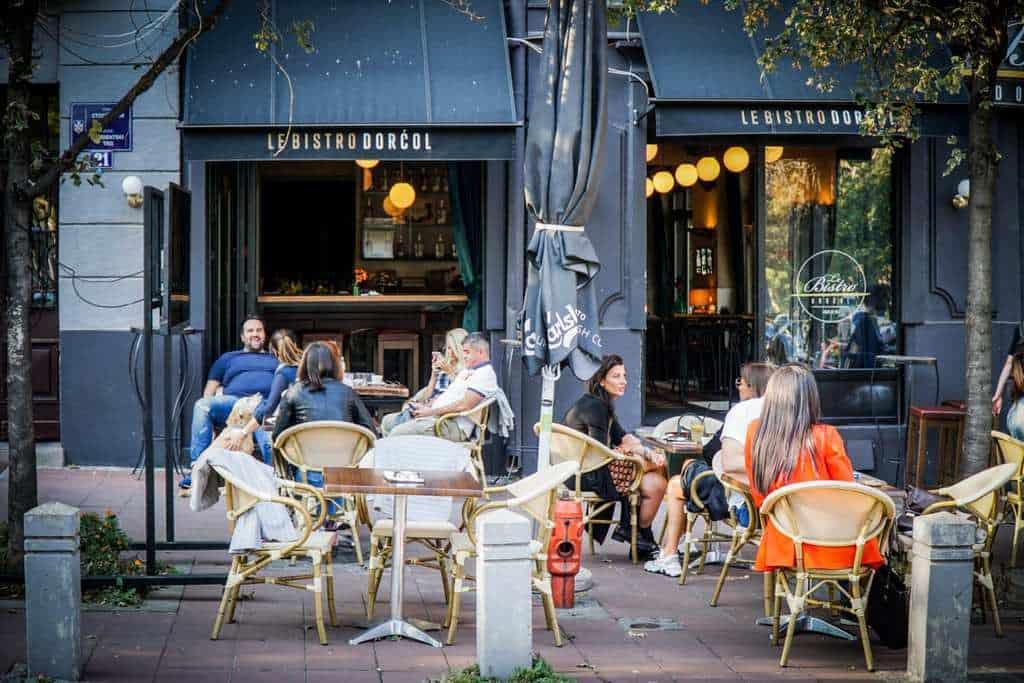Serbia - Belgrade - Students Park Cafe