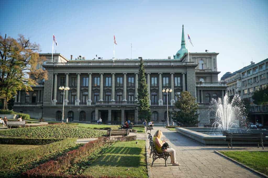Serbia - Belgrade - New Palace